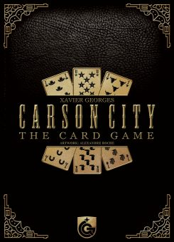 Carson City - The Card Game box