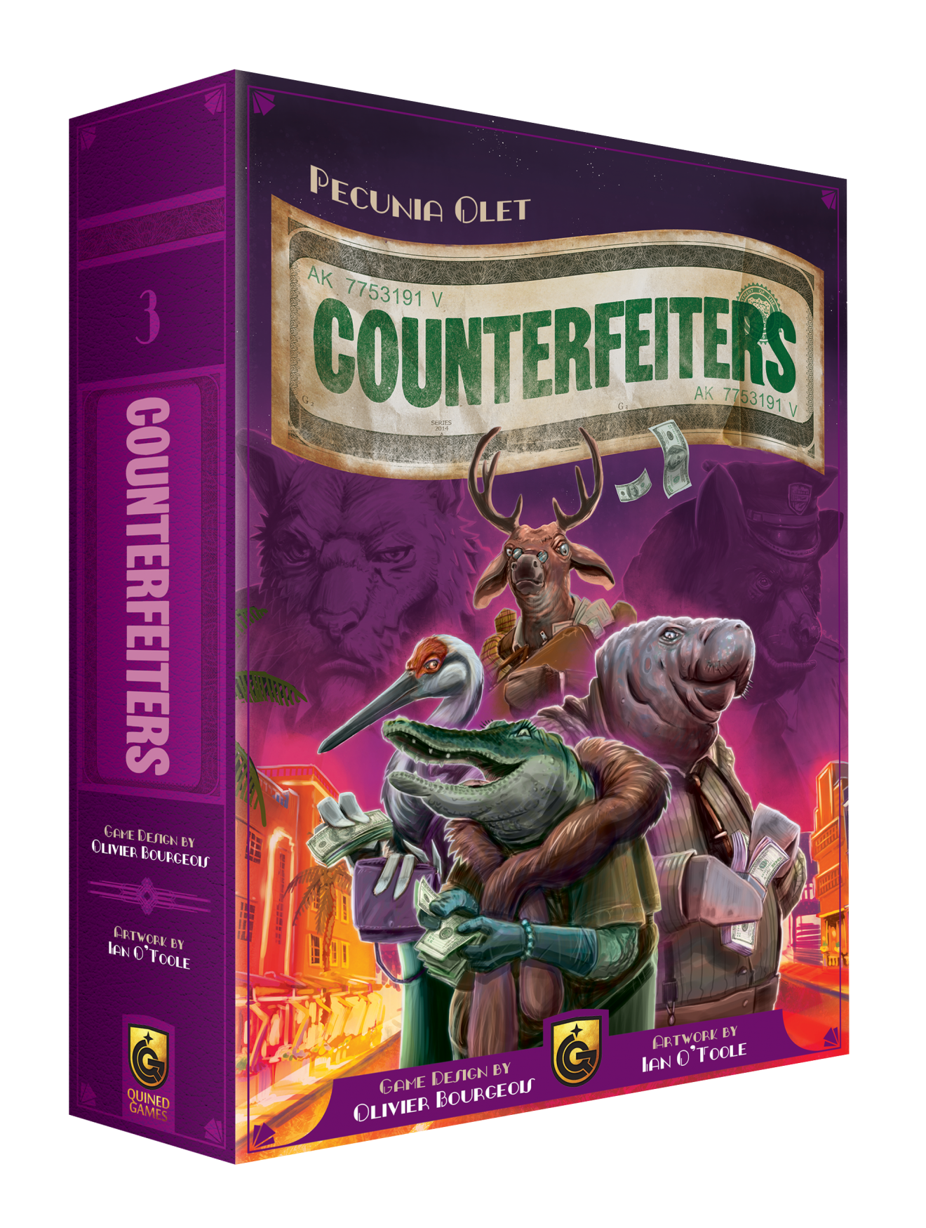 3D Box Counterfeiters