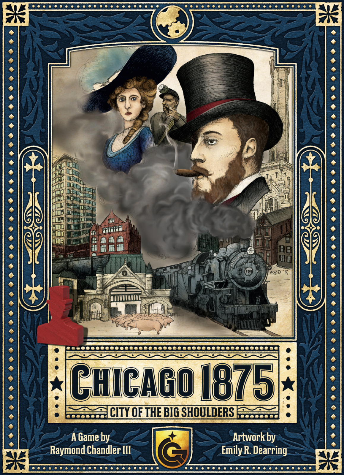 Chicago 1875: City of the Big Shoulders -  Quined Games