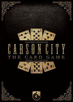 Carson City - The Card Game box